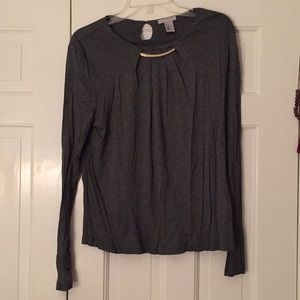 Lightly worn grey long sleeve size M